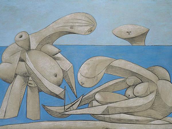 Pablo Picasso, Sulla spiaggia, 1937