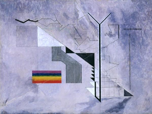 Osvaldo Licini, Castello in aria, 1933-1936. Collezione Augusto e Francesca Giovanardi
