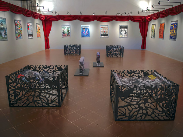 Neo Skenè. Manifesti d'artista al Teatro di Rifredi, allestimento