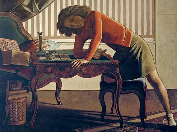 Balthus, La Patience, 1943, Balthus. The Art Institute of Chicago, Joseph Winterbotham Collection opera