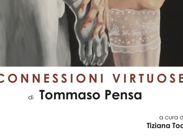 Connessioni Virtuose di Tommaso Pensa, Galleria Vittoria, Roma