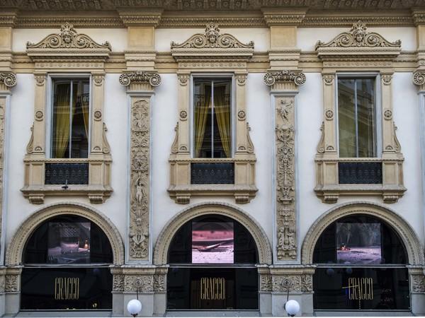 Masbedo, Roman (Hommage à Roman Signer), Galleria Cracco, Milano, installazione View