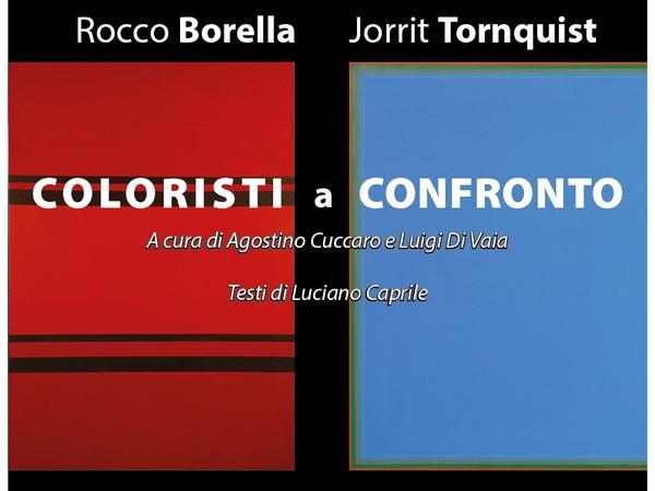 Rocco Borella / Jorrit Tornquist. Coloristi a confronto