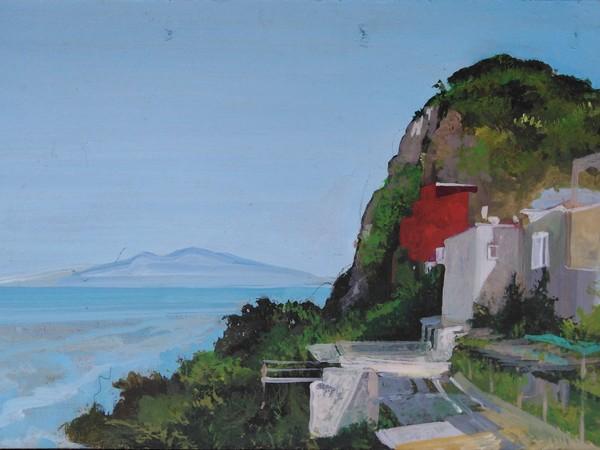 Arno Boueilh, Visto dal bar del Funicolare, Capri