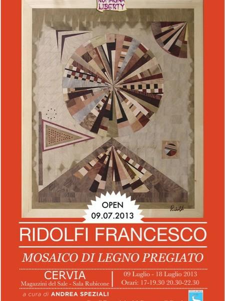Francesco Ridolfi. Mosaico di legno pregiato - Mostra - Cervia ...