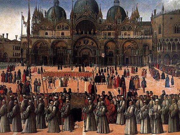 Procession in Saint Mark's Square