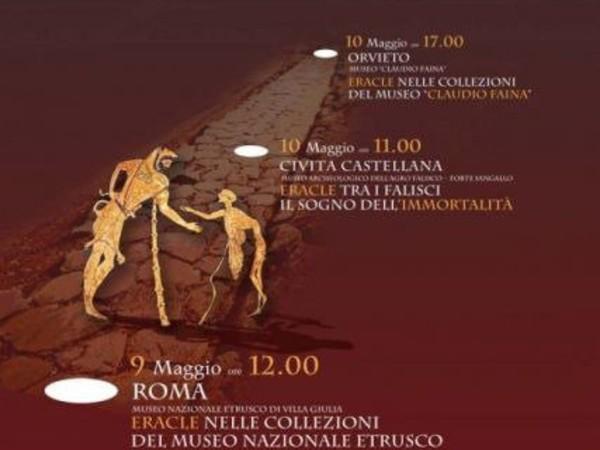 Sulle orme di Eracle, Museo Nazionale Etrusco di Villa Giulia, Roma