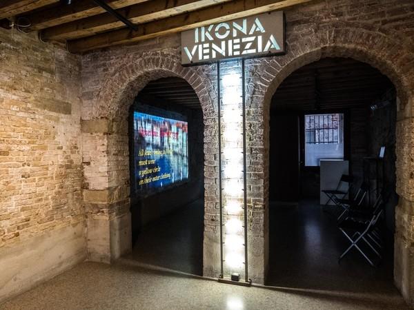 Joan Logue,<em> BEFORE THE GHETTO 1311-1516</em>, 2016, Video installazione, IKONA GALLERY, Venezia<br />