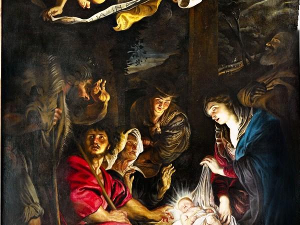 Pietro Paolo Rubens, Adorazione dei pastori Pinacoteca civica, Fermo. Olio su tela, cm 192x300 (part.)