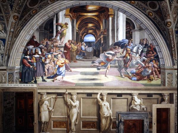 Stanze di raffaello illuminate da osram foto 4 for Decorazione stanze vaticane