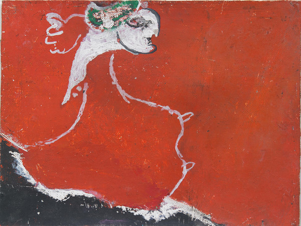 Osvaldo Licini, Amalassunta superba, 1951, olio su tela, coll. priv.