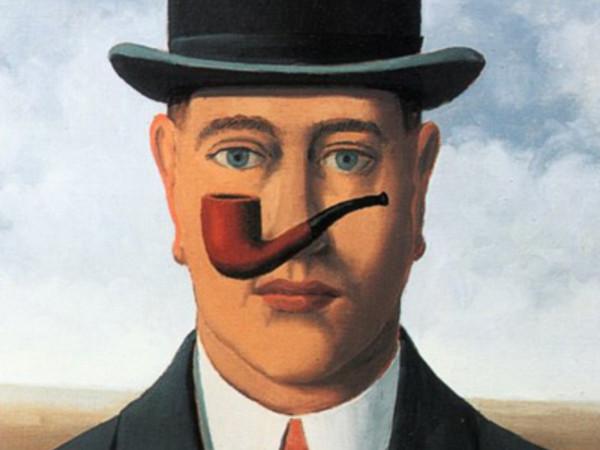 Ren magritte biografia e opere a venezia - Magritte uomo allo specchio ...