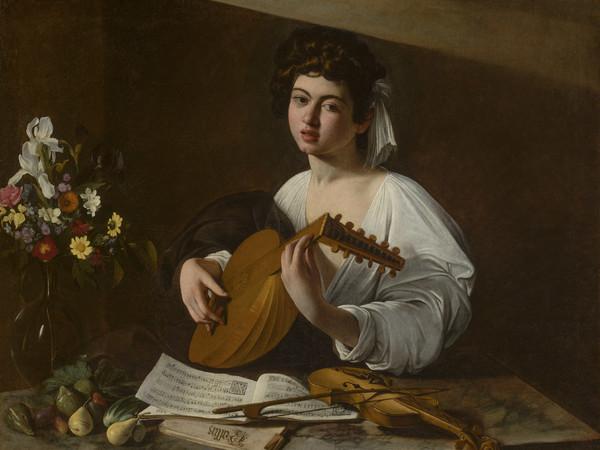 Michelangelo Merisi detto Caravaggio, Il Suonatore di liuto   Hermitage Photograph