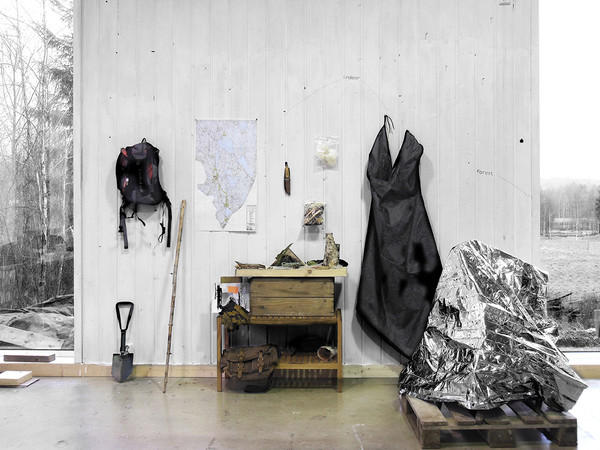 Daniele Girardi, North Way, 2014, installazione site-specific