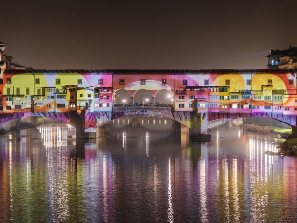 Ponte Vecchio, F-LIGHT - Firenze Light Festival