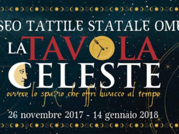 <em>La Tavola Celeste</em>, Museo Tattile Statale Omero, Ancona