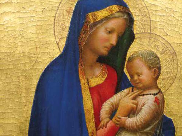 Masaccio, Madonna del solletico, 1426-1427. Gallerie degli Uffizi, Firenze
