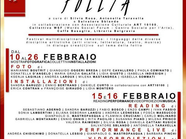 FestivArt della Follia, Circolo Arci Caffè Basaglia, Torino