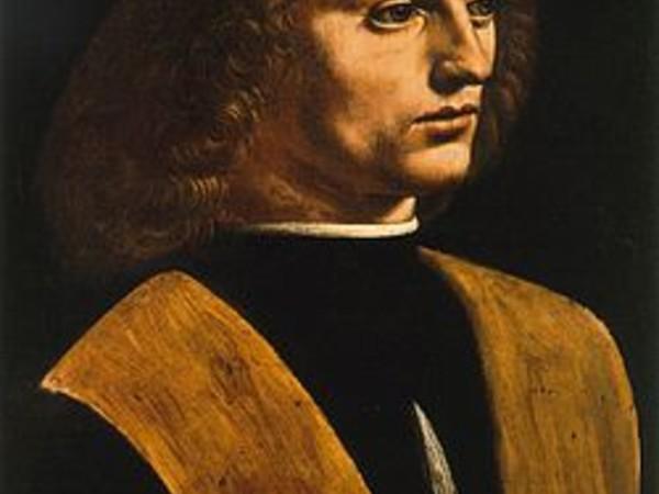 Leonardo da Vinci, Ritratto di musico, 1485 circa, Pinacoteca Ambrosiana Milano