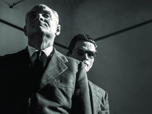 Agenzia Dufoto, <em>Alberto Moravia e Pier Paolo Pasolini</em>