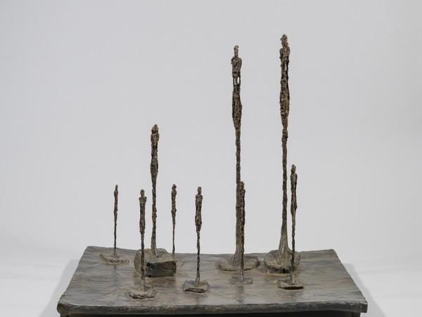 Alberto Giacometti, La Clairière, 1950 (FILEminimizer).Bronze, 58,7 x 65,3 x 52,5 cm.Fondation Giacometti, Paris<br />