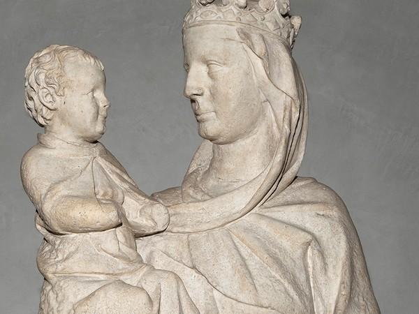 Giovanni Pisano, Madonna del Colloquio, 1280 (dalla Cattedrale), particolare