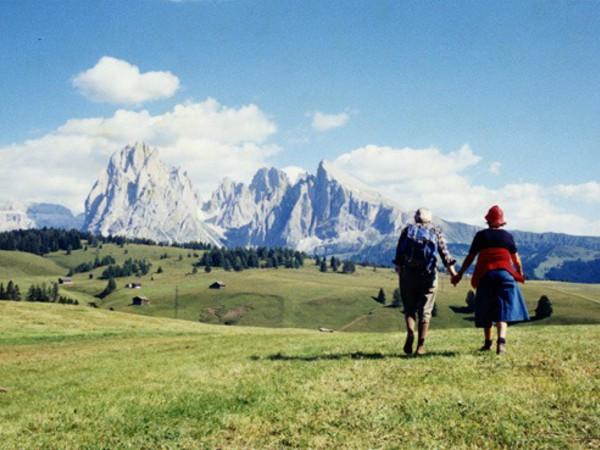 Luigi Ghirri, Alpe di Susi, Bolzano, 1979