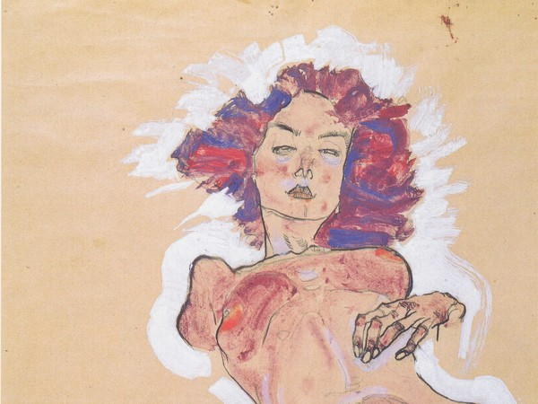 Egon Schiele, Nudo femminile, 1910