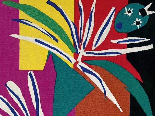 La danzatrice creola, 1990, Da Henri Matisse, Arazzo ad alto liccio, lana, 209 x 264 cm, Tessitura Arazzeria Scassa, Asti Collezione privata, Asti