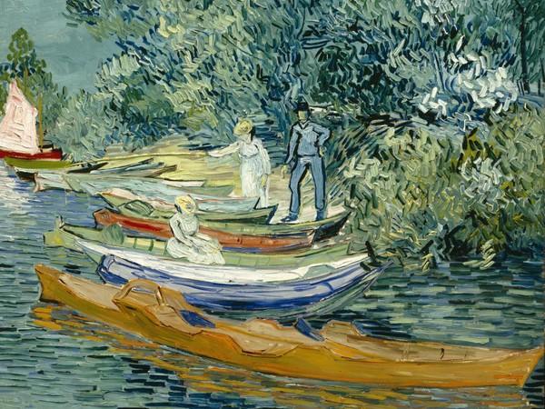 Vincent Willem van Gogh, Sponda dell'Oise ad Auvers, 1890, Olio su tela, 71.1 x 93.7 cm, Detroit Institute of Arts, Bequest of Robert H. Tannahill