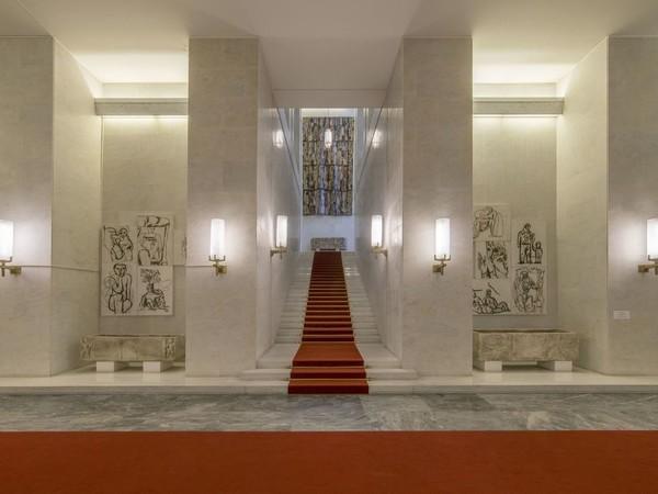 Atrio d'onore, Palazzo della Farnesina, Roma