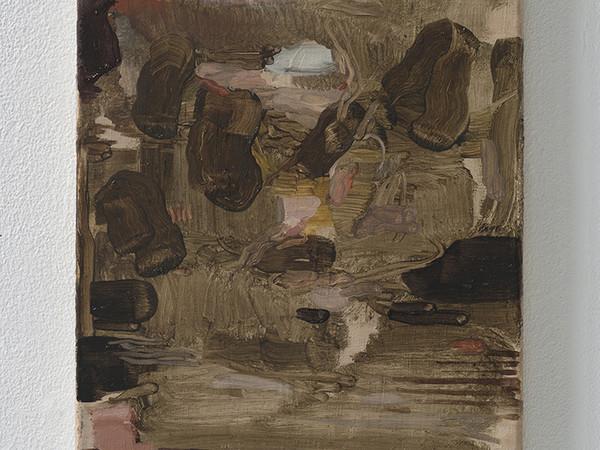 Nazzarena Poli Maramotti, In Un Posto Nascosto, 2017. Olio su tela, 40x30 cm.