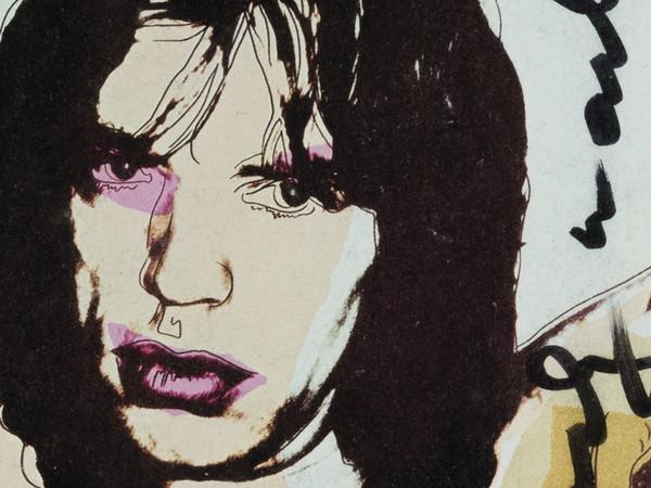 Andy Warhol, Mick Jagger