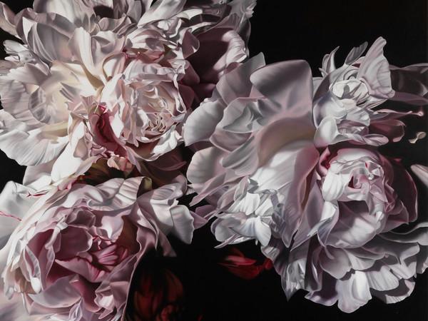 Casagrande & Recalcati, Ipervanitas 1605, 2017, olio su tela, 100x100 cm.