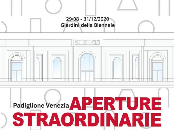 Aperture Straordinarie al Padiglione Venezia