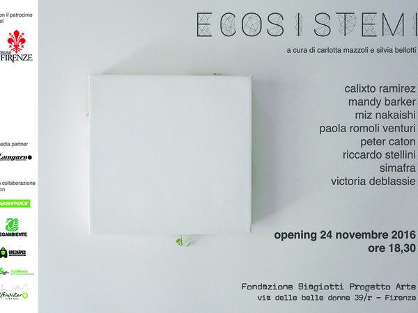 Ecosistemi, Fondazione Biagiotti Progetto Arte, Firenze