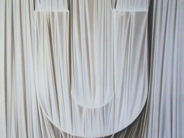 Umberto Mariani, Alfabeto afono U, 1976, acrilico su tela, 80x80 cm.
