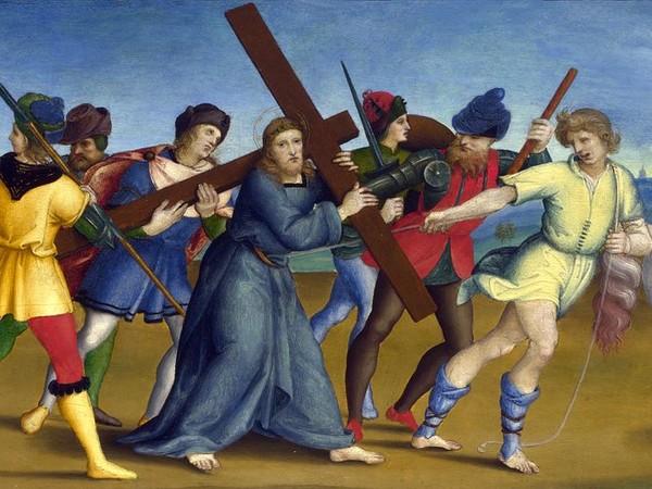Alla National Gallery il pannello centrale della predella della Pala Colonna