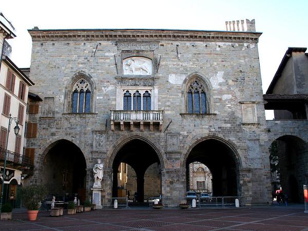 Bergamo,Palazzo della Ragione