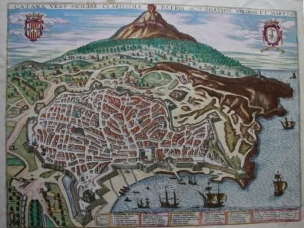 """Catania com'era: dalle """"Antichità"""" alle """"Difese"""" della città. Documenti e immagini"""