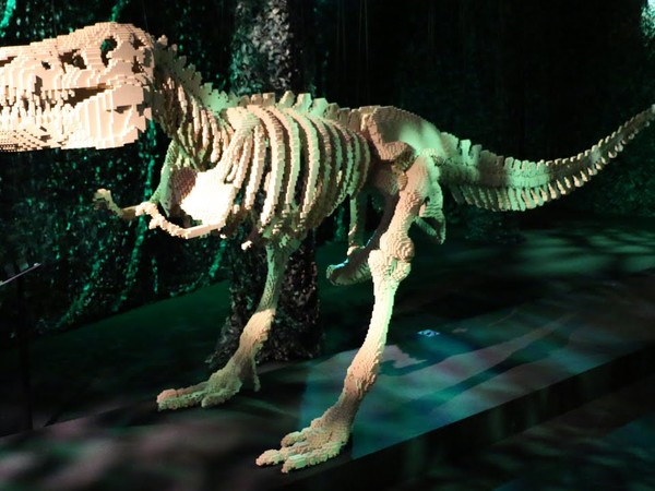 Nathan Sawaya, Dinosauro