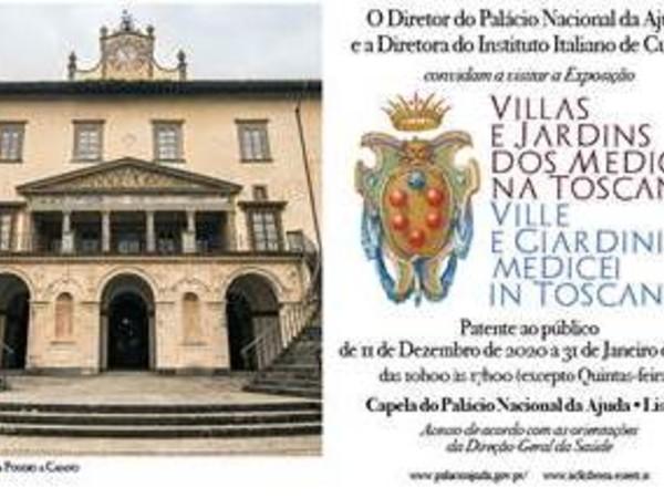 Ville e Giardini Medicei in Toscana, Palazzo Nazionale di Ajuda, Lisbona