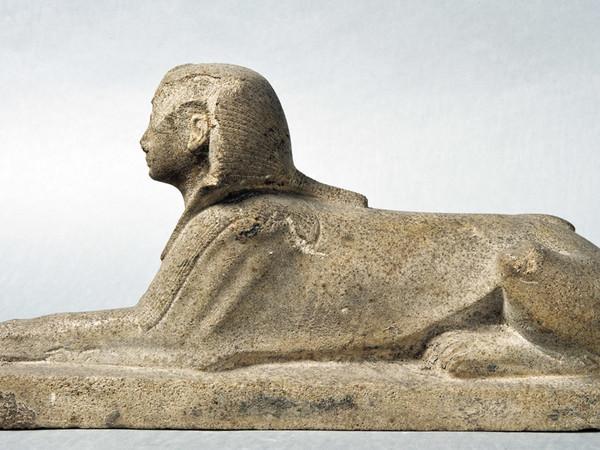 Statua di Amenofi II in forma di sfinge, dal Tempio di Karnak