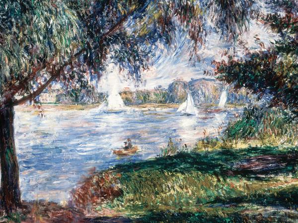Pierre-Auguste Renoir, Bougival, 1888. Olio su tela, 54x65 cm. Collezione Pérez Simón, Messico
