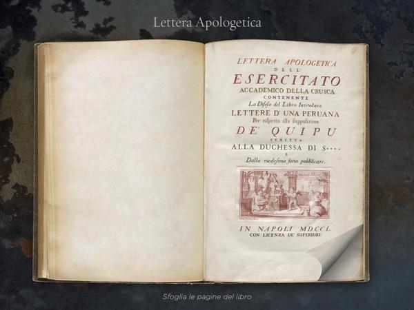 <em>Lettera Apologetica</em>(1751)