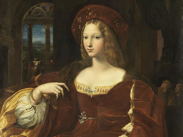 Raffaello Sanzio, Ritratto di Dona Isabel de Requesens, 1518, Olio su tavola, 95 x 120 cm, Museo del Louvre, Parigi