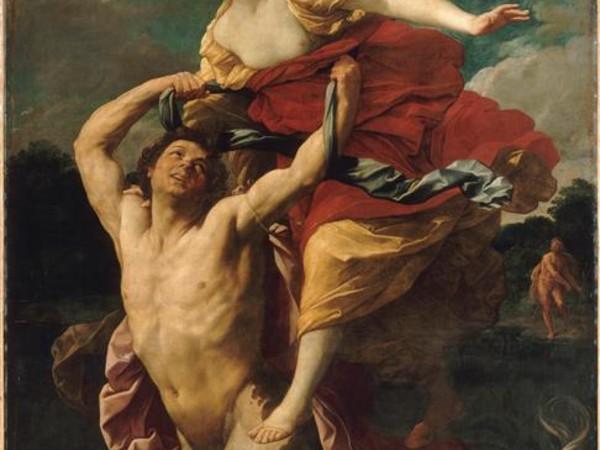 Guido Reni, Nesso e Dejanira, tela, cm 284,7x218. Parigi, Museo del Louvre