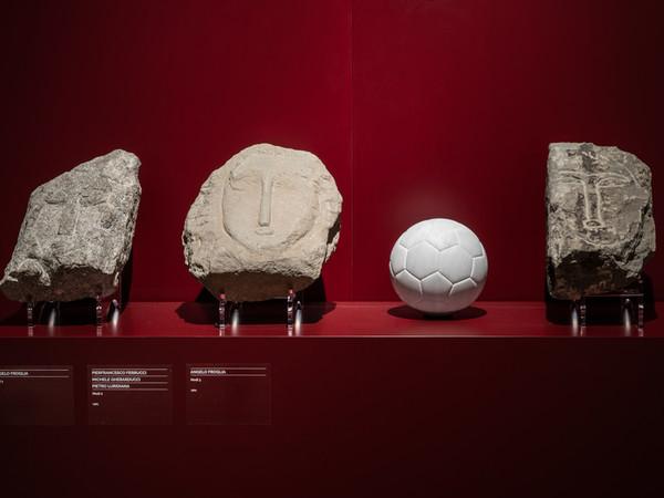 """Ruth Beraha, Charlie, 2019. Installation view of the solo show """"Non sarai mai solo"""", Museo della Città Bottini dell'Olio e Luogo Pio, Livorno"""
