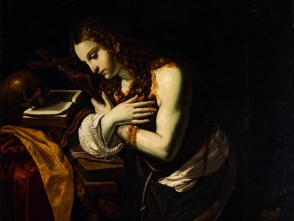 Giovan Francesco Guerrieri, Maddalena Penitente,1625-1630, Olio su tela, 145 x214 cm, Pinacoteca e Museo Civico Malatestiano, Fano