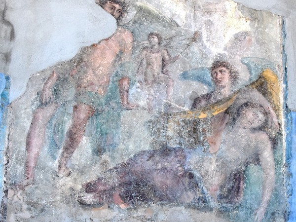 Arianna e Teseo, Villa Arianna, Parco Archeologico di Pompei